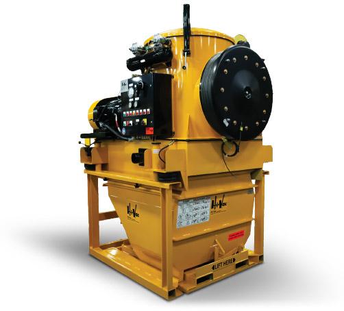 800 Series Hi-Vac Portable Industrial Vacuum