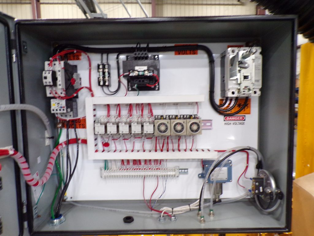 Stationary Industrial Vacuum Controller
